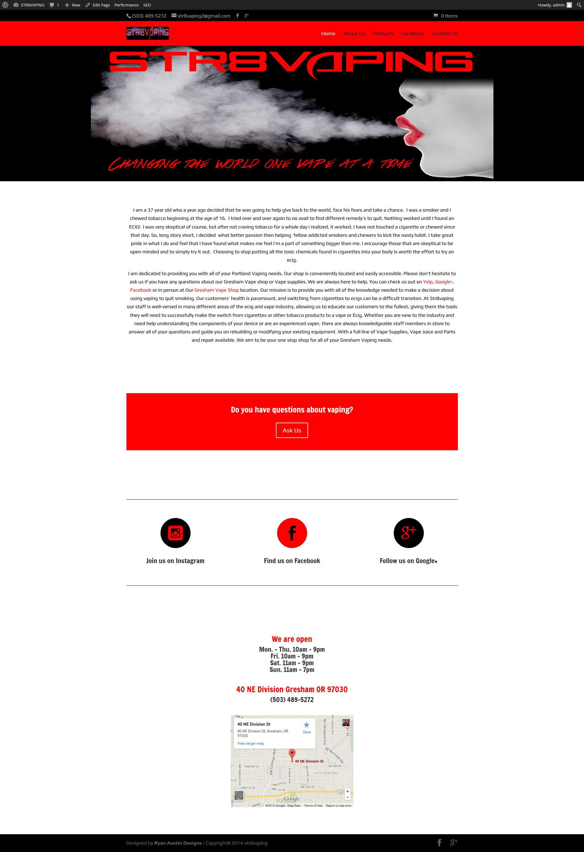 Str8vaping | Ryan Austin Designs