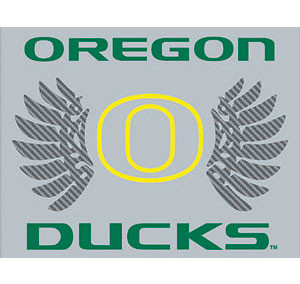 Oregon Ducks Vinyl Hood Wrap